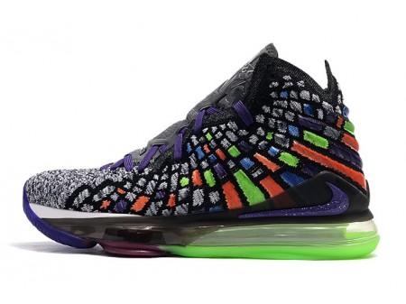 Nike LeBron 17 Grey/Multi-Color Men