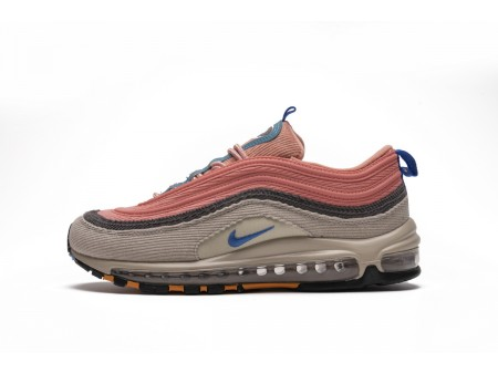 "Nike Air Max 97 ""Corduroy Desert Sand"" Pink CQ7512-046 Men and Women"
