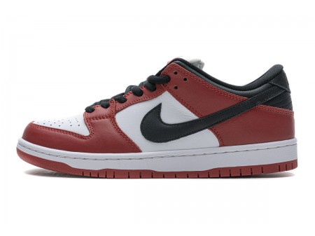 "Nike SB Dunk Low Pro J-Pack ""Chicago"" Red Black White BQ6817-600 Men Women"