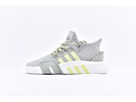 Adidas EQT Bask ADV Ash Silver Grey-Green BD7783 Men and Women