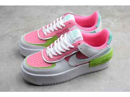 Wmns Nike Air Force 1 Low Shadow Peach White Green CI0919-022 Women