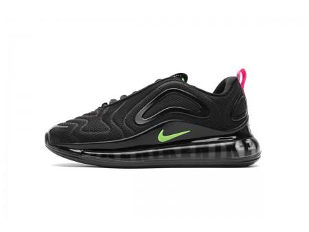 Nike Air Max 720 Black Hyper Pink Scream Green CQ4614-001 Men Women