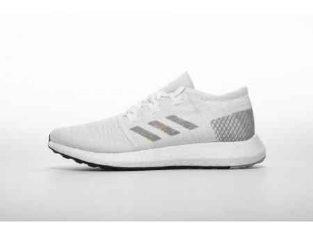 "Adidas Pure Boost GO ""Cloud White/Grey/Grey"" AH2311 Men Women"
