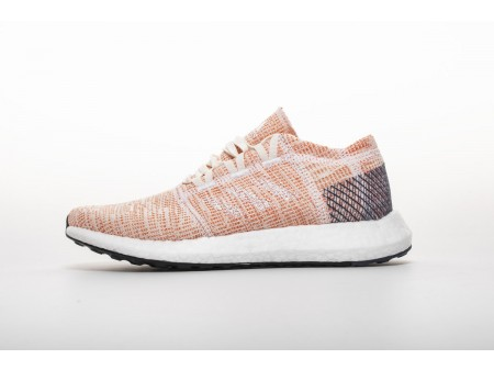 """Adidas Pure Boost GO """"Cloud White/Mystery Ink"""" B75666 Women"""