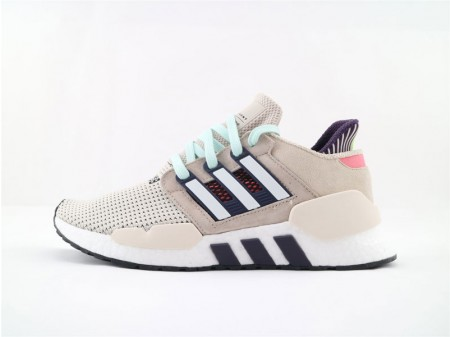 Adidas EQT Support 91/18 Boost Beige Clear Brown Black Red CM8409 Men and Women
