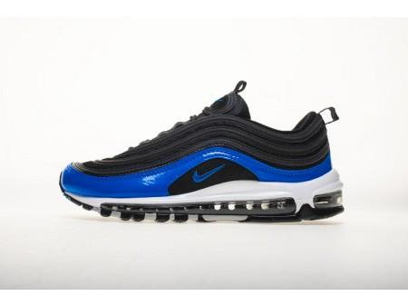 "Nike Air Max 97 GS Black ""Binary Blue"" 921826 011 Men and Women"