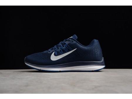 Nike Zoom Winflo 5 Midnight Navy/Silver Grey/Gym Blue AA7406-401 Men