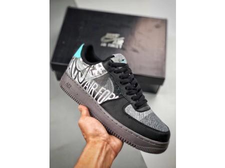 Nike Air Force 1 '07 Low Off Noir Pure Platinum AF1 CI0066-001 Men Women