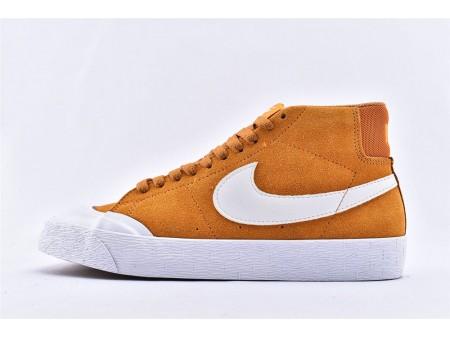 Nike SB Blazer Zoom Mid XT Circuit Orange/White 876872-819 Men and Women