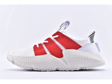Adidas Prophere White Red FU9263 Men and Women
