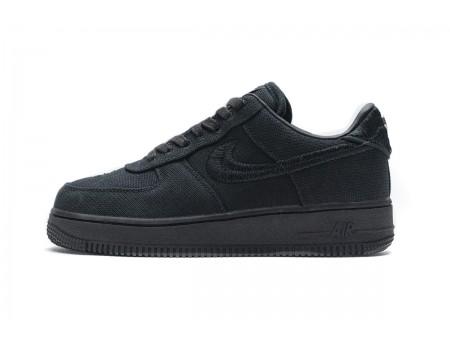 Stussy x Nike Air Force 1 Low Black CZ9084-001 Men Women