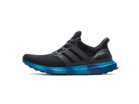"Adidas Ultra Boost 4.0 Rainbow Pack ""Core Black/Blue"" FV7281 Men"