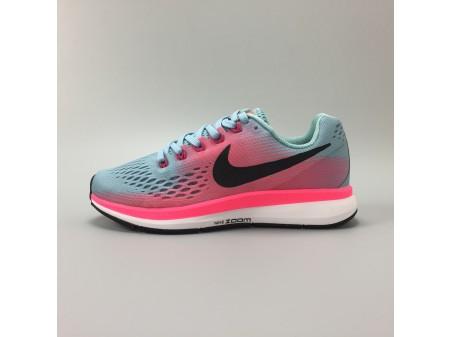 Nike Air Zoom Pegasus 34 Mica Blue Racer Pink 880560-406 Women