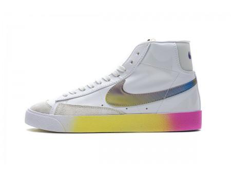 Nike Blazer Mid '77 Vintage Thermal White/Bright Cactus/Hyper Pink CZ8653-136 Men and Women