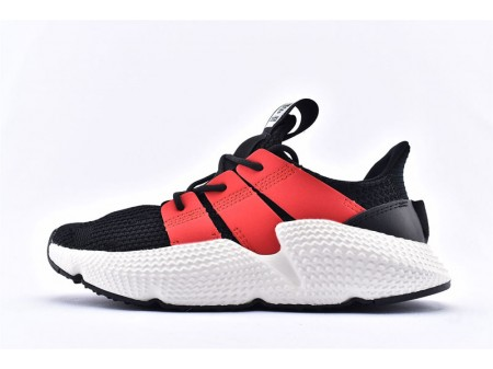 Adidas Prophere Black Red Fluorescent White FU9264 Men and Women