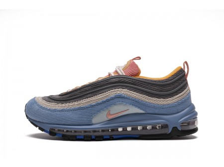 "Nike Air Max 97 ""Corduroy Light Blue"" CQ7512-462 Men and Women"