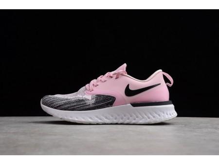 Nike Odyssey React 2 Flyknit Black Pink AH1016-601 Women