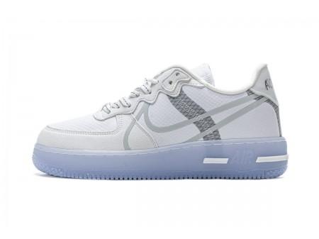 Nike Air Force 1 Low React QS White Ice Blue CQ8879-100 Men Women