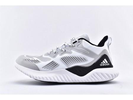 Adidas AlphaBounce Beyond M Light Gray/White Black B76050 Men