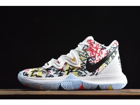 "Nike Kyrie 5 ""Keep Sue Fresh"" PE Basketball Shoes CW4403-100 Men"