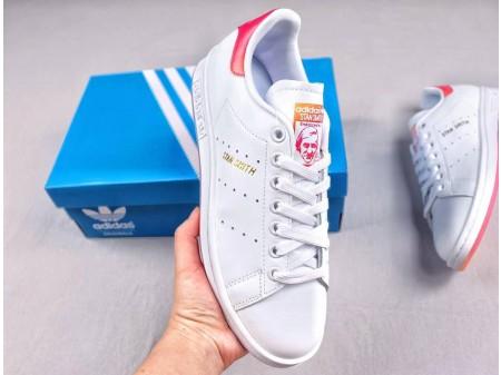 "Adidas Stan Smith ""Gradient Crystal"" Leather White Shoes EG8133 Men Women"