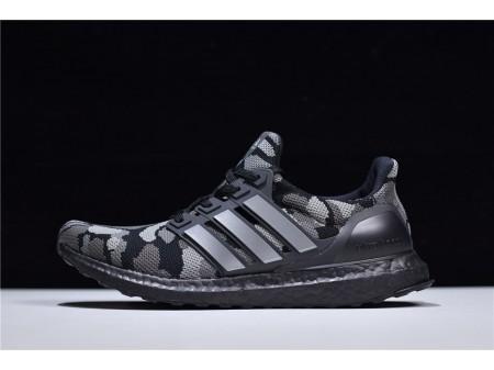 Bape X Adidas Ultra Boost UB 4.0 Black Camo G54784 Men Women