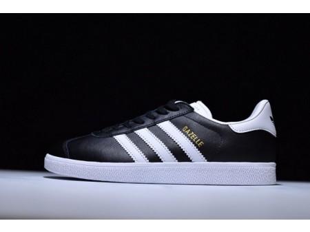 Adidas Originals Gazelle Leather White Black BB5498 for Men