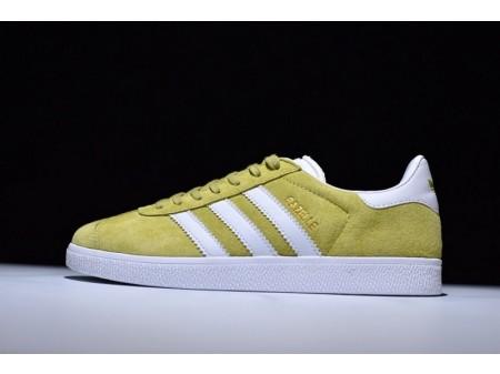 Adidas Originals Gazelle Yellow White Gold Met BB5479 for Men and Women