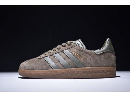 Adidas Originals Gazelle Brown/Army Green BB5266 for Men