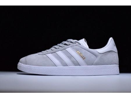 Adidas Originals Gazelle Clear Onix White Gold Metallic S76221 for Men and Women
