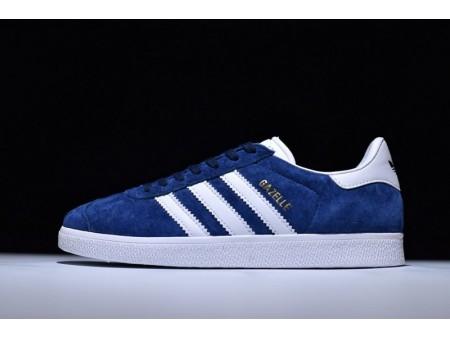 Adidas Originals Gazelle Deep Royal Blue/White S76277 for Men