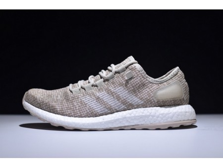 Adidas Pure Boost Clima Light Beige S82099 for Men
