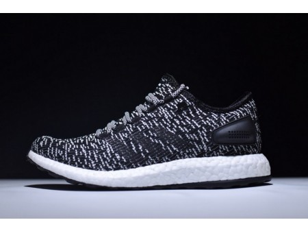 """Adidas Pure Boost Ltd Core Black White """"Oreo"""" BA8890 for Men"""