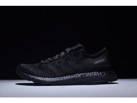 Adidas Pure Boost Ltd Triple Black S80702 for Men