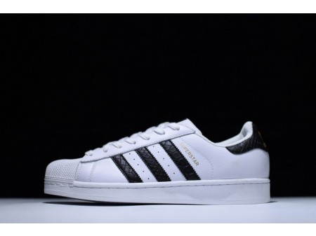 Adidas Superstar East River Rivalry White Black Pattern B34308 for Men and Women
