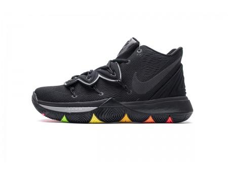 "Nike Kyrie 5 ""Rainbow"" Soles Black AO2919-001 Men"