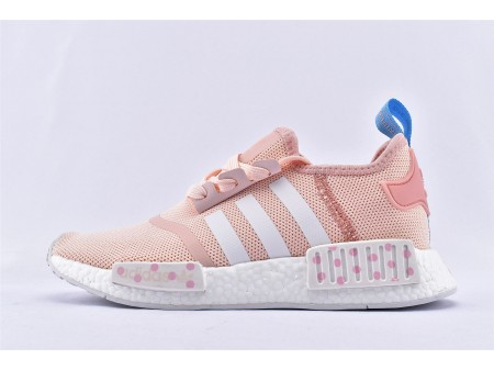 Toy Story 4 x Adidas NMD_R1 Boost 'Bo Peep' Pink White EG7316 for Women