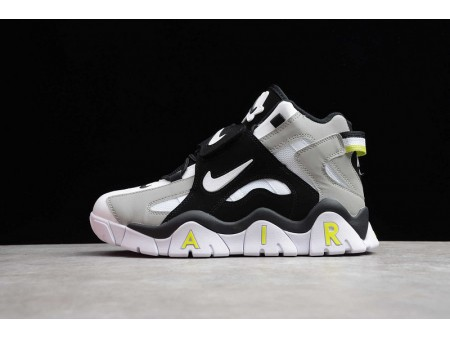 Nike Air Barrage Mid QS White Black Lime Green CD9329-009 Men and Women