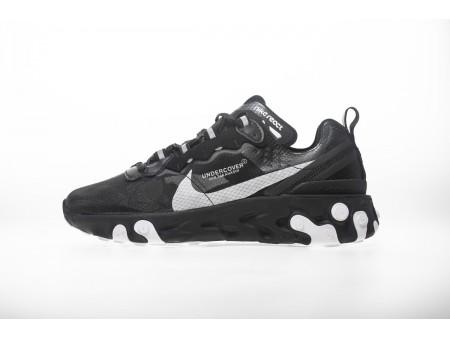 "UNDERCOVER X Nike Upcoming React Element 87 ""All Black"" AQ1813-001 Men Women"