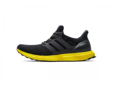 "Adidas Ultra Boost 4.0 ""Core Black/Yellow"" FV7280 Men"