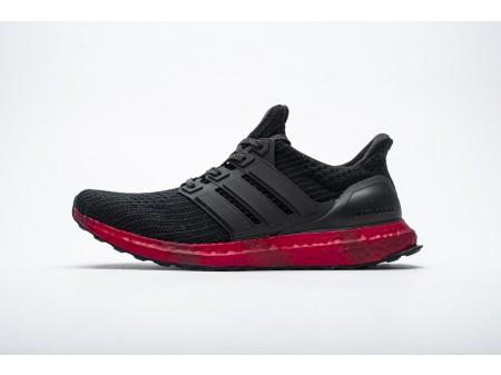 "Adidas Ultra Boost 4.0 ""Core Black/Solar Red"" FV7282 Men"