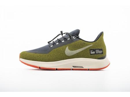 Nike Air Zoom Pegasus 35 Shield Olive Flak AA1643-300 Men