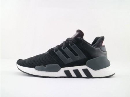 Adidas EQT Support 91/18 Boost Core Black and White B37520 Men and Women