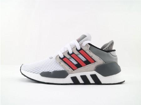 Adidas EQT Support 91/18 Boost Grey Hi-Res Red B37521 Men and Women