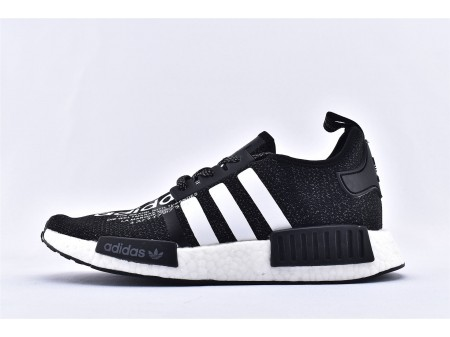 Adidas NMD_R1 Black Reflective Men and Women