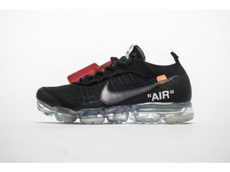 OFF-WHITE x Nike Air VaporMax Black AA3831-002 Men Women