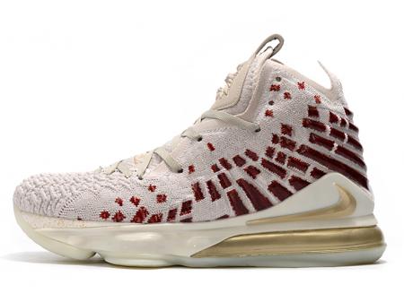 Harlem Fashion Row x Nike LeBron 17 Desert Sand/Metallic Gold-Cedar CT3466-001 Men