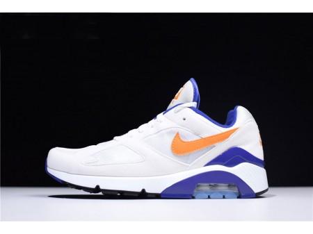 Nike Air Max 180 'Bright Ceramic' White Blue 615287-101 Men