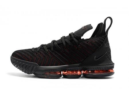 Nike LeBron 16 'Bred' Black Red Basketball Shoes Men Women