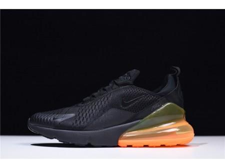Nike Air Max 270 Black/Orange AH8050-008 for Men